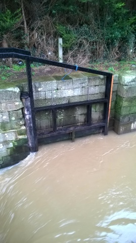 one of Campbell's Lock gates