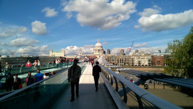 st.paul's from millenium bridge